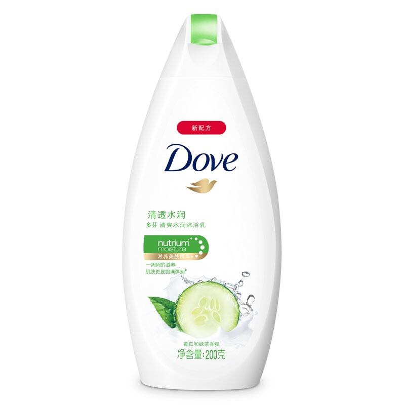 Dove 多芬 清爽水润系列清透水润沐浴乳 200g