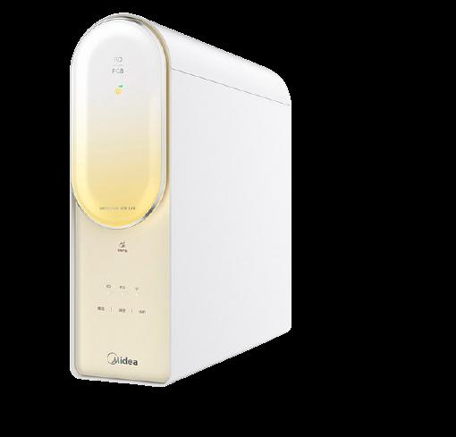 Midea 美的 净水器家用直饮净水机过滤器智能家电RO反渗透净水器澎湃800G