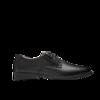 Clarks 其乐 Tilden Plain系列男士圆头皮革平底低帮系带商务正装德比鞋261103508 黑色 41.5
