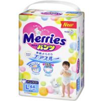 88VIP:Merries 妙而舒 婴儿拉拉裤 L 44片