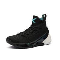 ANTA 安踏 KT4系列 男子篮球鞋 11841101-1 安踏白/黑/复古绿/荧光 43