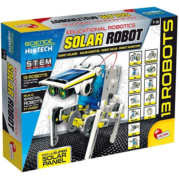中亚Prime会员 : LISCIANI MULTIROBOT 14合1太阳能机器人