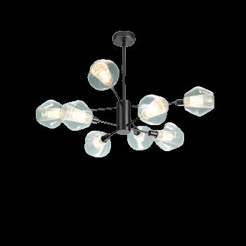 OPPLE 歐普照明 朵拉 8頭客廳燈 黑色