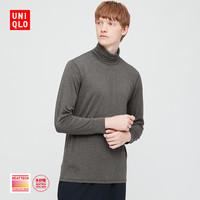 UNIQLO 优衣库 HEATTECH EXW 429037 男士两翻领T恤