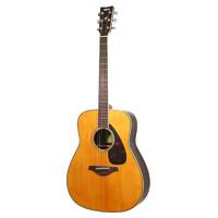 YAMAHA 雅马哈 FG系列 FG830VN 民谣吉他 41英寸 原木色