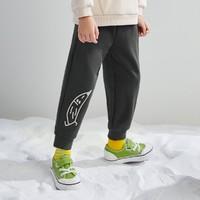 mini balabala 迷你巴拉巴拉 儿童薄绒休闲卫裤