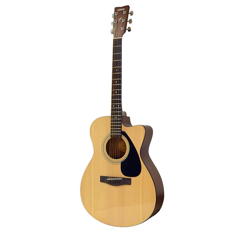 YAMAHA 雅马哈 F系列 FS100C 民谣吉他 40英寸 原木色