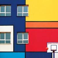 艺术品:Yener Torun耶内·托伦 摄影作品 《街头篮球》Street Hoop
