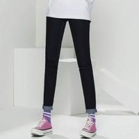 Lee X-LINE LWS4332UZ898 高腰窄脚牛仔裤