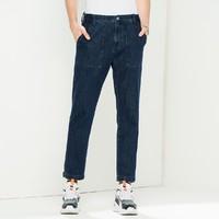 唯品尖货:Lee L432575PNBBK 男款工装中腰直脚牛仔裤