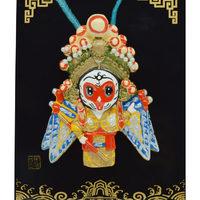京劇臉譜擺件掛件 中國風特色禮品 出國禮品禮物送老外特色工藝品