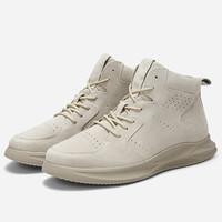 Semir 森马 16E079461004-3220 男士纯色工装靴
