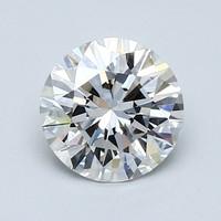 Blue Nile 1.03克拉圆形切割钻石(切工非常好 成色H 净度VS1)