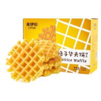 京东PLUS会员:LYFEN 来伊份  格子华夫饼  500g/盒 *5件