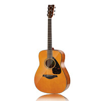 YAMAHA 雅马哈 FG系列 FG800VN 民谣吉他 41英寸 复古木色 亮光