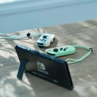 Nintendo 任天堂 switch 续航版蓝绿主机 港版