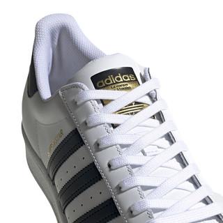 adidas Originals SUPERSTAR系列 中性休闲运动鞋 EG4958 白色/金标 38