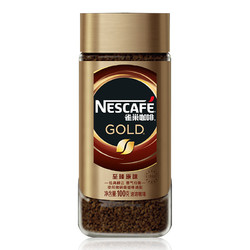 Nestlé 雀巢 金牌黑咖啡粉  100g