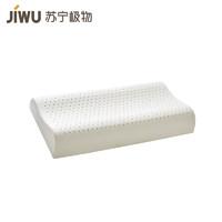 苏宁SUPER会员:JIWU 苏宁极物 泰国天然乳胶青年枕