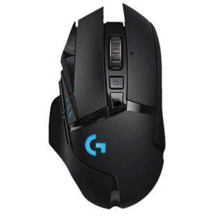 Logitech 罗技 G502 LIGHTSPEED 2.4G蓝牙 无线鼠标 25600DPI RGB 黑色