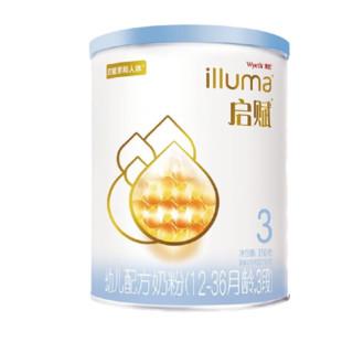 illuma 启赋 蓝钻系列 幼儿奶粉 国行版 3段 350g
