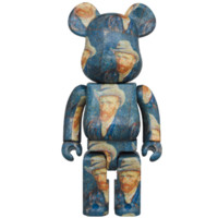 BE@RBRICK 積木熊Bearbrick Van Gogh Museum 1000% 梵高潮玩公仔