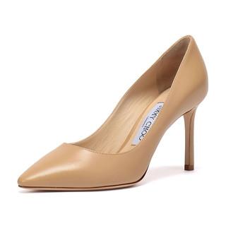JIMMY CHOO 周仰杰 ROMY 85系列 女士羊皮高跟鞋 KID 247