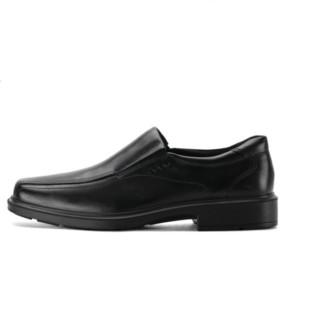 ecco 爱步 Helsinki 赫尔辛基系列 050134 男士休闲皮鞋 40 黑色