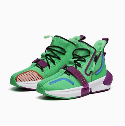 ANTA 安踏 七龙珠超联名系列 男子篮球鞋 112011619-5 比克配色 43