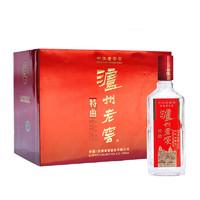 LUZHOULAOJIAO 泸州老窖 特曲 老字号 52%vol 浓香型白酒 165ml*6瓶 礼盒装