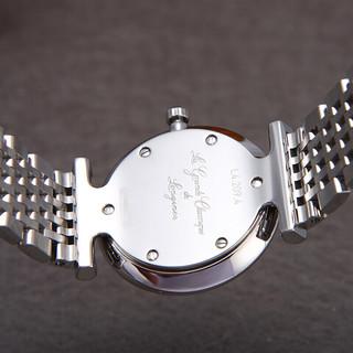 LONGINES 浪琴 优雅嘉岚系列 24mm精钢石英腕表 L4.209.4.11.6