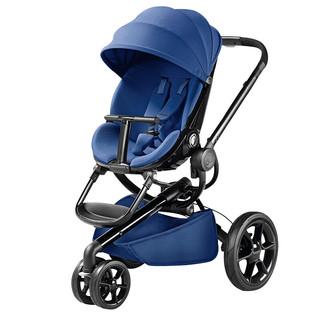 Quinny 酷尼 Moodd系列 婴儿推车+睡篮+提篮 蓝色