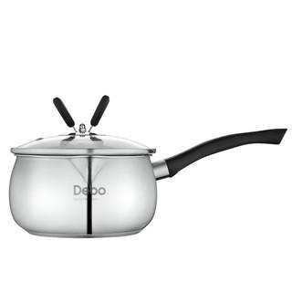 DEBO 德铂 DEP-DS200 奶锅(16cm、1.8L、304不锈钢)
