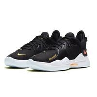耐克Nike PG5 保罗乔治 5代 泡椒 黑白 男子运动缓震篮球鞋 CW3146-001 CW3146-001 黑白 40