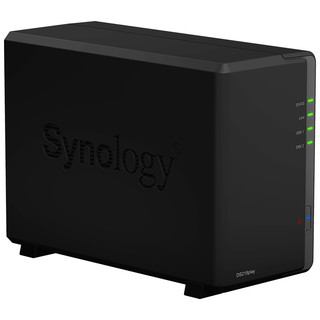 Synology 群晖 DS218play 2盘位NAS (RTD1296)