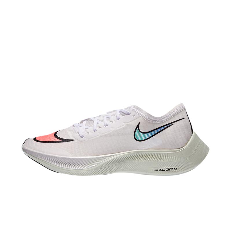 NIKE 耐克 ZoomXVaporflyNext%系列 中性跑鞋 AO4568-102 白红 38