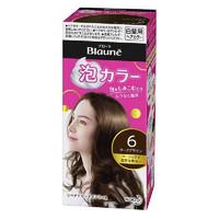 KAO 花王 Blaune泡沫纯染发剂 深褐色(1液40ml 2液60ml 护发素8g ) *3件
