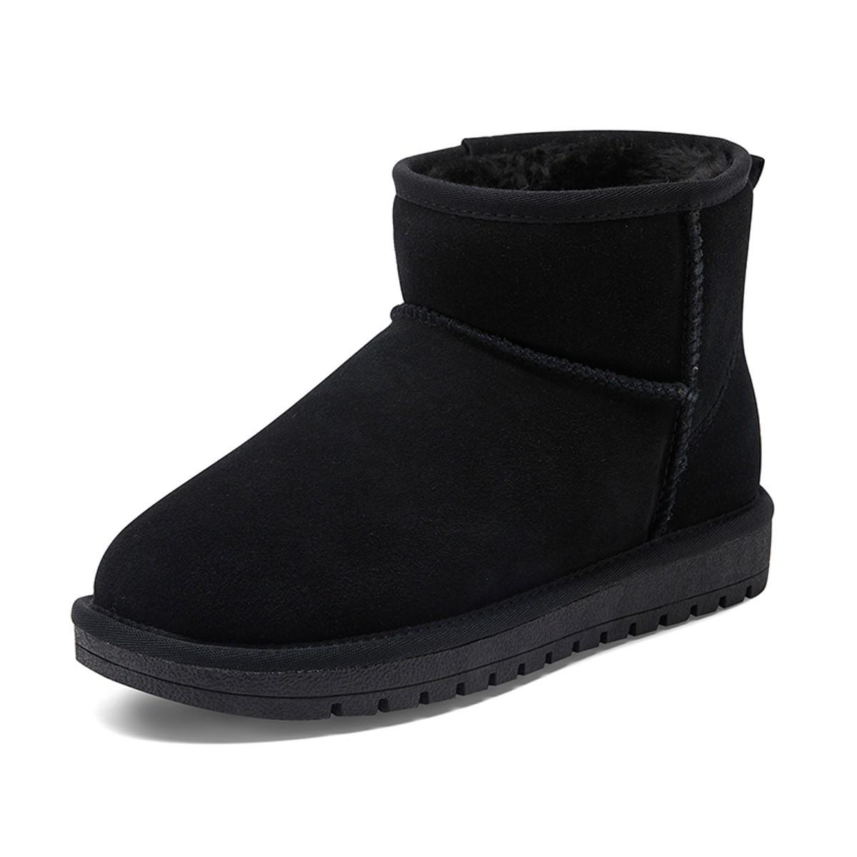 WARRIOR 回力 WZ0016 情侣款加绒加厚防滑短靴