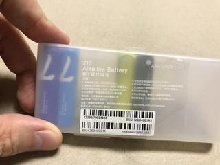 光颜值就物超所值的小米7号电池