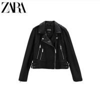 ZARA TRF 05479200800 女装 机车款皮革夹克