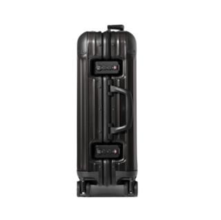 RIMOWA ORIGINAL系列双杆竖条纹铝镁合金TSA海关锁搭扣拉杆箱92552004 哑黑色 20英寸