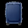 RIMOWA ESSENTIAL SLEEVE系列双杆竖条纹聚碳酸酯TSA海关锁拉链拉杆箱84252634 哑蓝色 20英寸