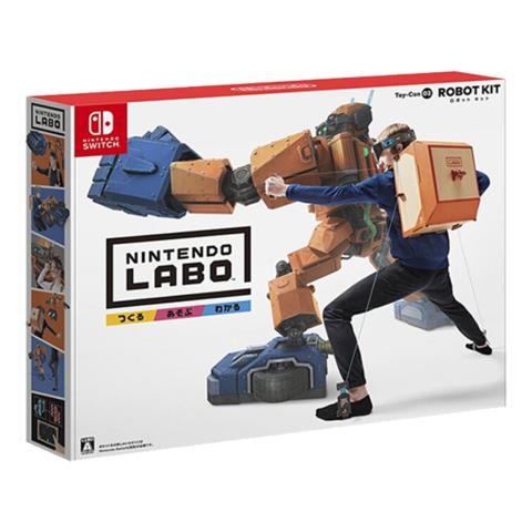 Nintendo 任天堂 NINTENDO)Switch游戏软件 NS游戏卡带 LABO机器人 纸箱游戏 中文