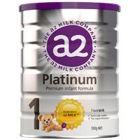 a2 艾尔 Platinum 白金版 婴幼儿配方奶粉 1段 900g/罐