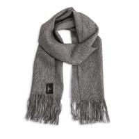 新西兰Stansborough指环王系列灰羊毛保暖围巾26x180cm 灰蓝