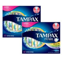 TAMPAX 丹碧丝 珍珠系列塑胶导管式卫生棉条 L轻吸收量20支+R普通吸收量60支+S大吸收量20支