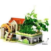 QZM 巧之木 3D立体拼图 送四包种子+浇水壶+种植日记卡 四款可选