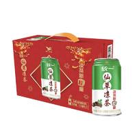 PLUS会员、有券的上:Uni-President 统一 仙草凉茶 310ml*12罐