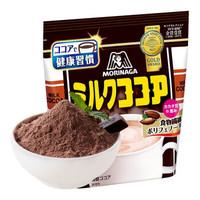 森永  日本进口牛奶可可粉 烘焙脏脏包蛋糕原料  冲饮即食可可牛奶自制早餐
