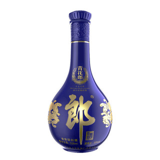 LANGJIU 郎酒 青花郎酒 天宝洞藏 陈酿  53%vol 酱香型白酒 558ml*6瓶 整箱装